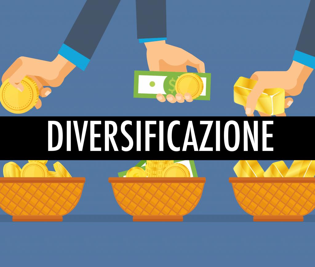 cos'è la DIVERSIFICAZIONE dell'investimento