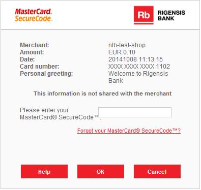 attivazione di mastercard securecode